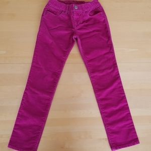 Gap Kids Pink Girl's Corduroy Pants
